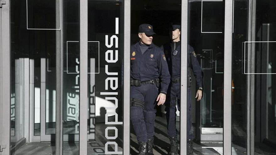 El PP entregó a Ruz 5.000 folios sobre las obras de reforma de Génova