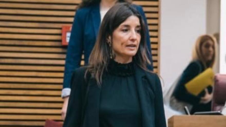 Ruth Merino, portavoz adjunta de Ciudadanos en las Corts.