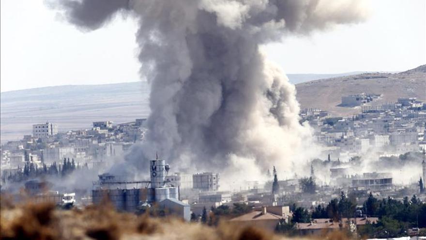 Cuatro muertos, entre ellos tres niños, por bombardeos en el centro de Siria