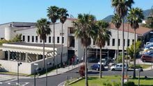 Hospital General de La Palma.