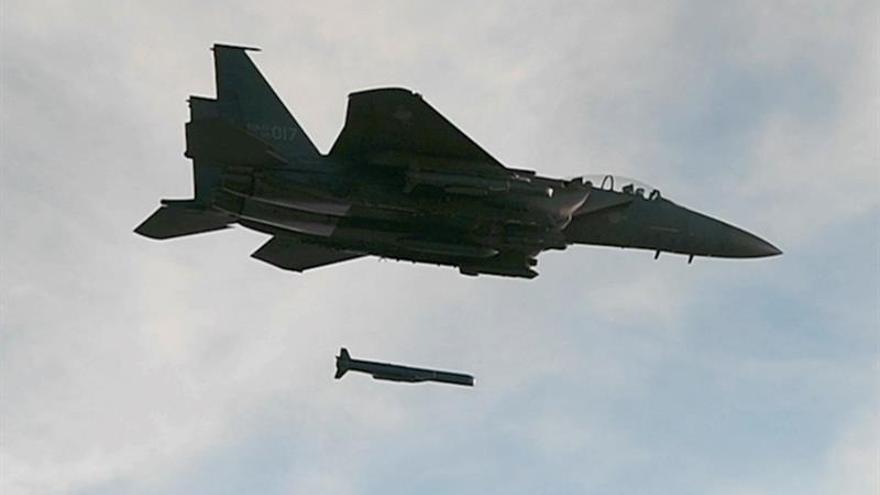 Seúl realiza maniobras navales con fuego real tras ensayo nuclear norcoreano
