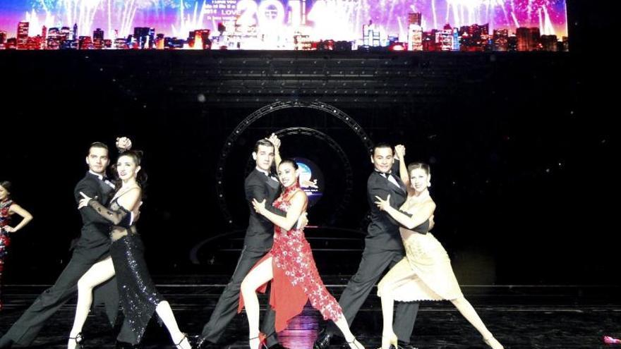 El tango argentino, una de las estrellas de las galas de Año Nuevo de Pekín