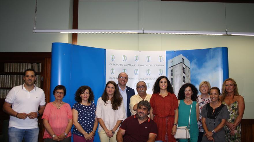 Acto celebrado en el Cabildo con las distintas asociaciones.