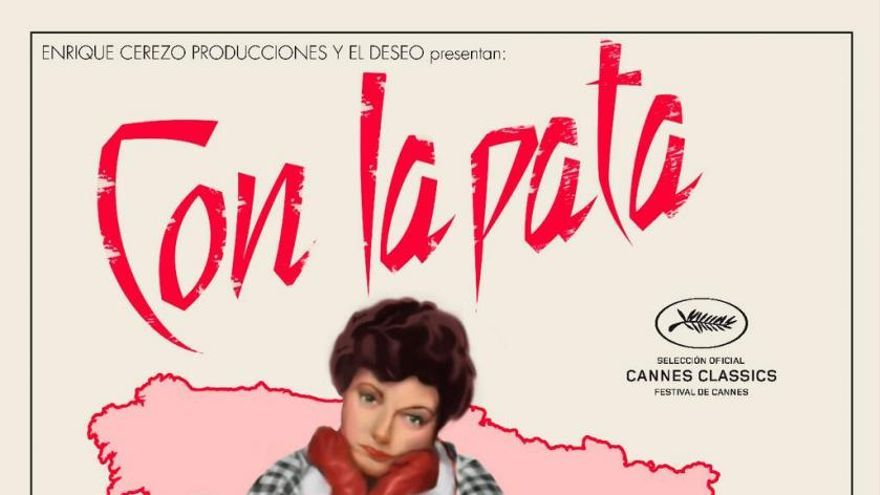 Cartel del documental 'Con la pata quebrada'.