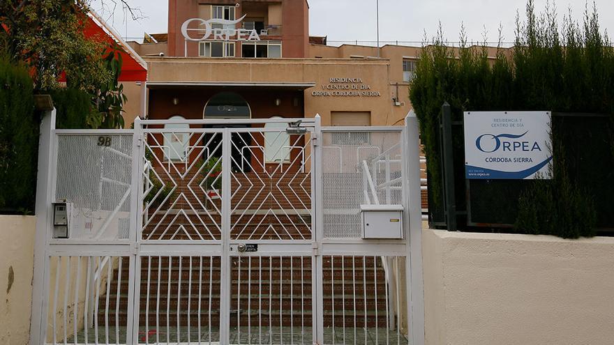 Residencia Orpea Sierra donde se ha detectado el brote de Covid | MADERO CUBERO