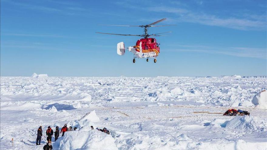 Rompehielos de EEUU va al rescate de los navíos chino y ruso en la Antártida