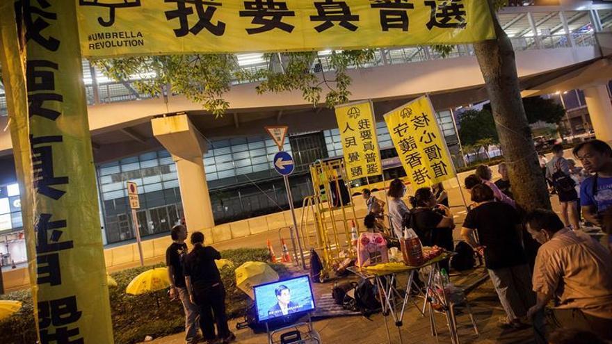 """Comienza en Hong Kong el juicio a líderes de la """"Revolución de los Paraguas"""""""