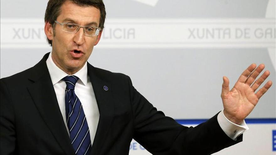 """Feijóo pide criterios """"económicos y no políticos"""" en el reparto del déficit"""