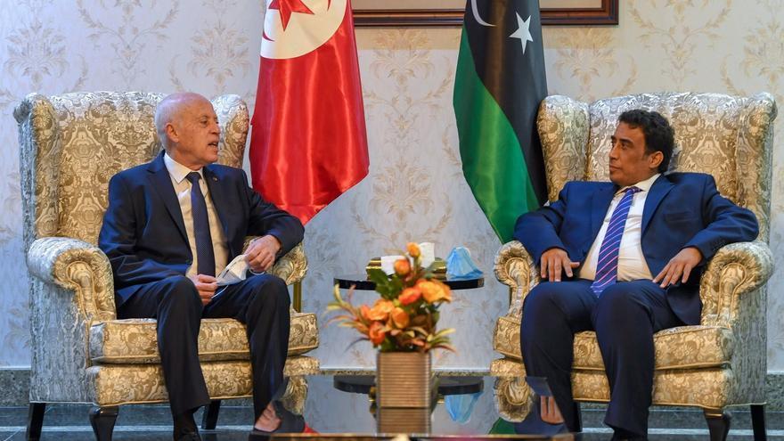 El presidente tunecino llega a Libia para reactivar las relaciones bilaterales