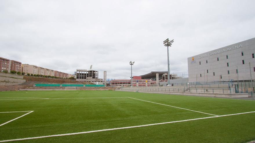 Campo anexo del Estadio de Gran Canaria