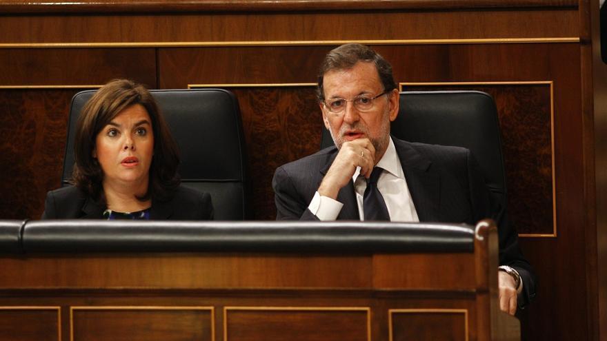 """Rajoy evita comentar las críticas de Aznar sobre Cataluña y quiere que el PP no haga """"ruido"""" con este asunto"""