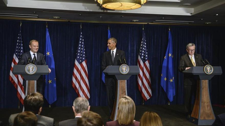 Obama: EEUU y UE mantendrán las sanciones a Rusia hasta que cumpla con Minsk