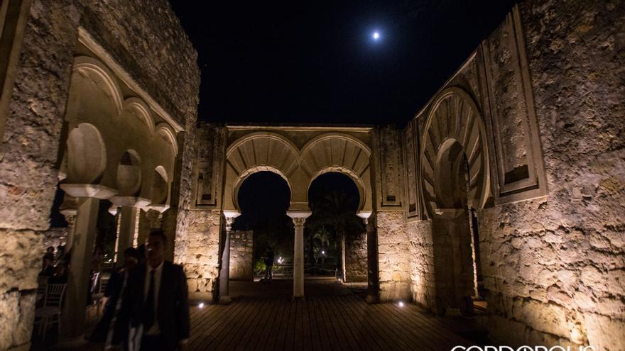 Iluminación nocturna de Medina Azahara | MADERO CUBERO