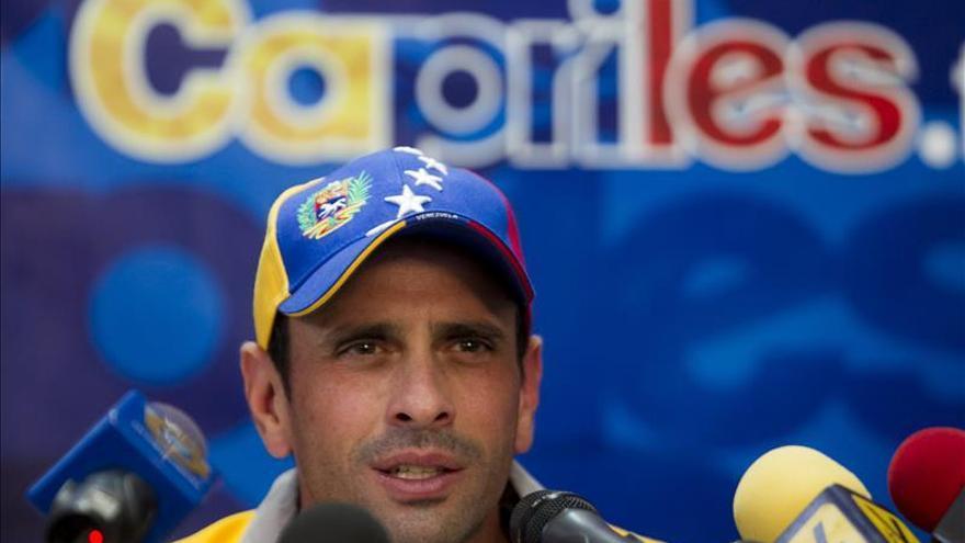 Los partidos de Capriles y López vencedores en las primarias opositoras venezolanas