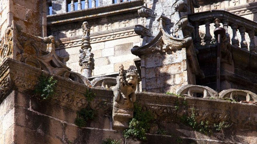 Detalle de la Catedral de Plasencia / Twitter @Extremadura_tur