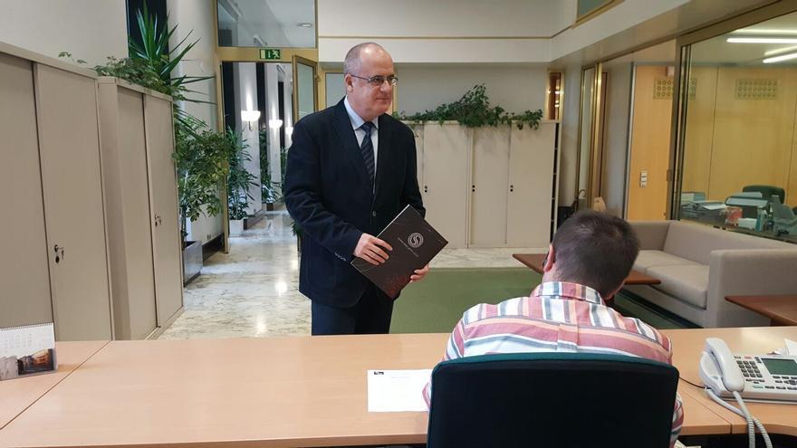 Egibar registra este viernes la candidatura a la investidura de Íñigo Urkullu.