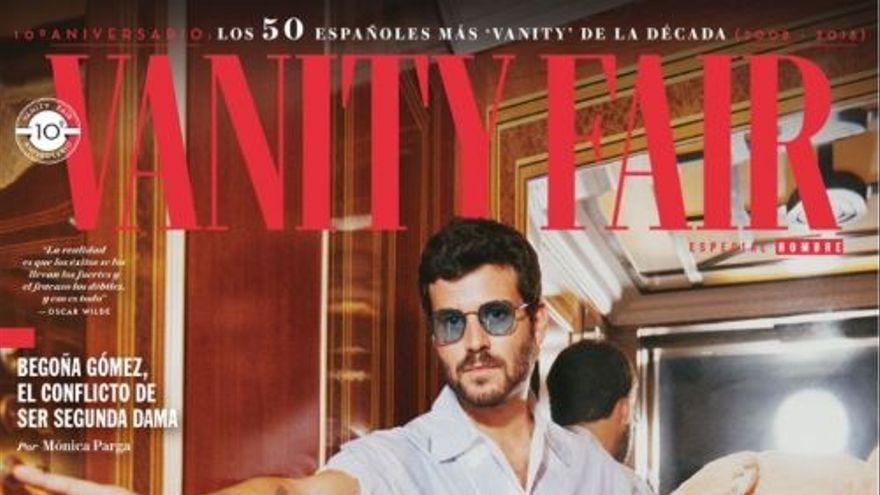 Willy Bárcenas, en Vanity Fair