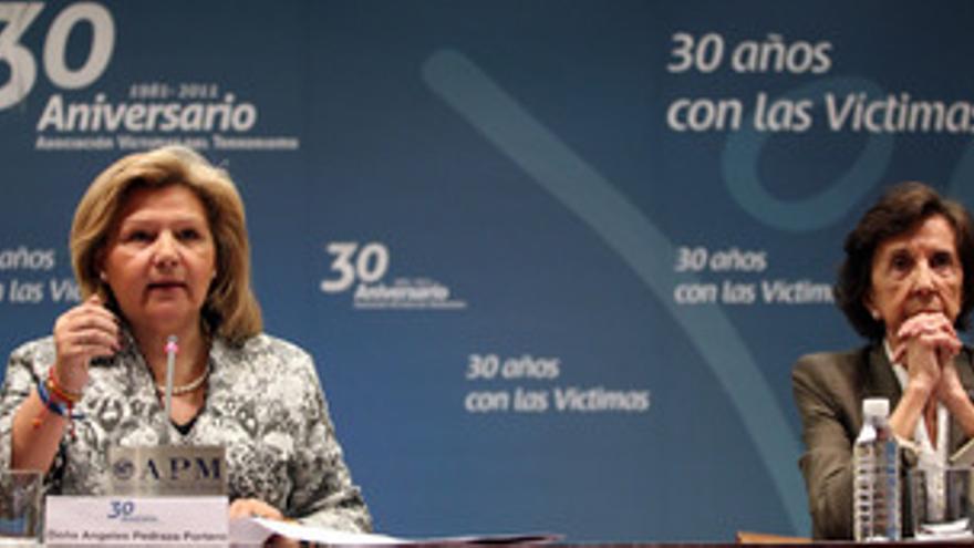 Presidenta de la AVT, Ángeles Pedraza