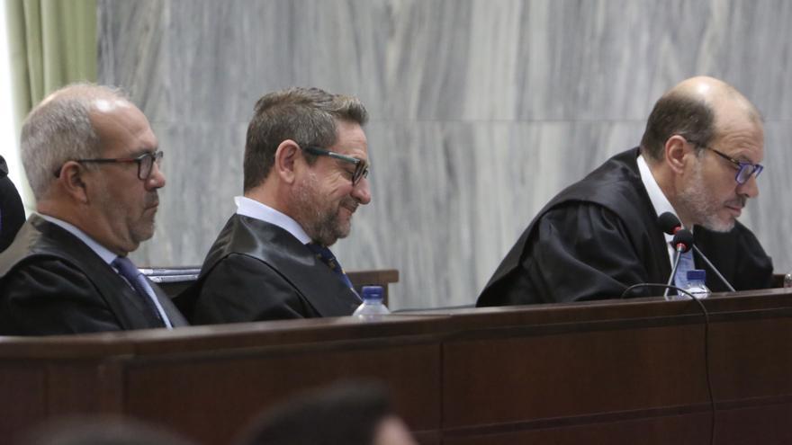 El juez Salvador Alba en la última sesión del juicio.