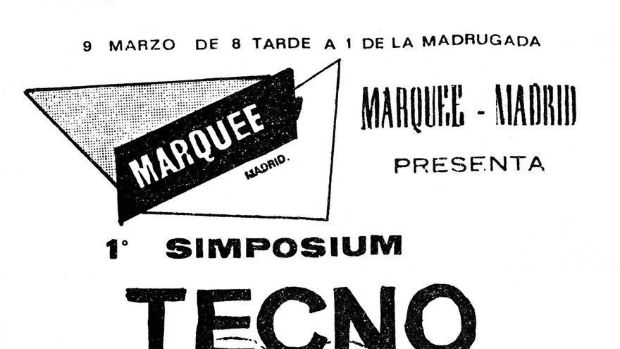 El primer Simposium Tecno patrio fue un encuentro pionero que reunió a los primeros exploradores del pop electrónico español