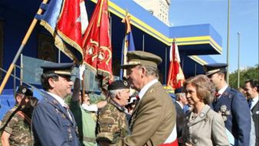 Reyes sofia princepes desfile fiesta nacional recursos