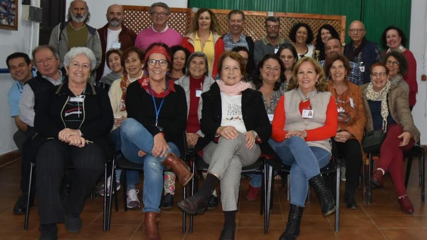 Integrantes de la plataforma Canarias Cohousing.