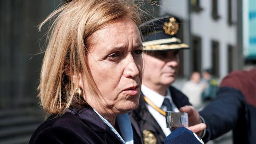 La delegada del Gobierno en Canarias, Mercedes Roldós. EFE/Ángel Medina G.