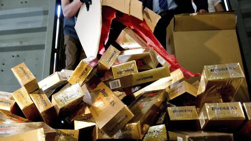 Francia requisa 6,5 toneladas de cigarrillos que entraron desde España