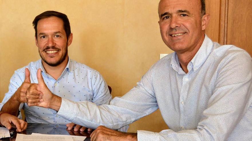 Mariano H. Zapata y Raúl Camacho.
