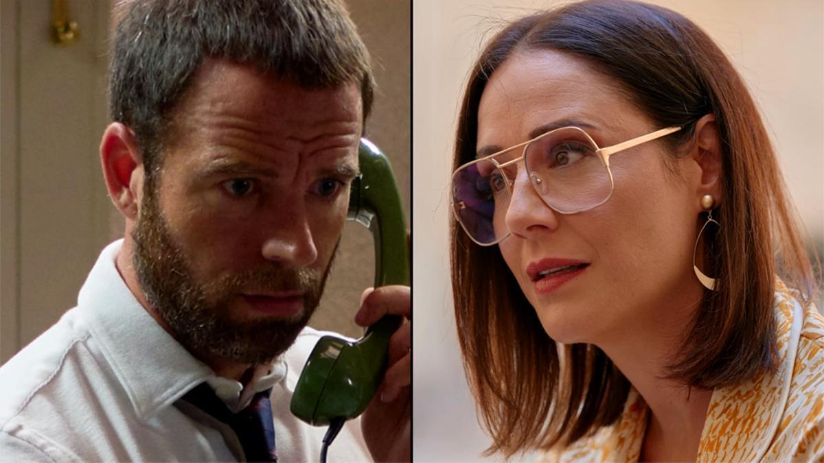 Fran y Cristina, en 'Amar es para siempre'