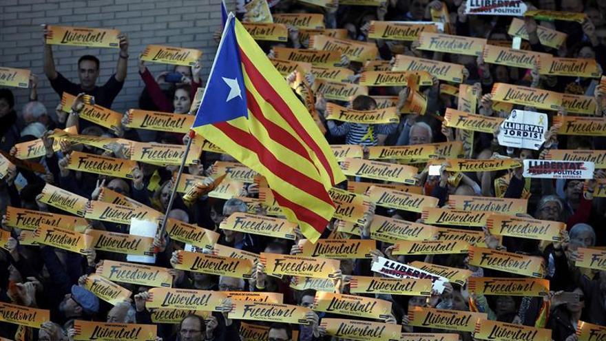 ERC llama a trasladar el clamor de libertad de la manifestación a las urnas