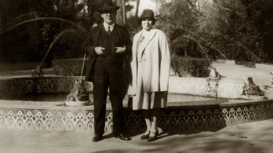 Blas Infante y su mujer/ foto: Archivo Centro de Estudios Andaluces