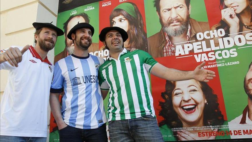 """""""Ocho apellidos vascos"""" fue el tercer film europeo más taquillero en 2014"""