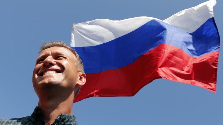 Hospitalizan a Alexéi Navalni por una reacción alérgica aguda en la cárcel