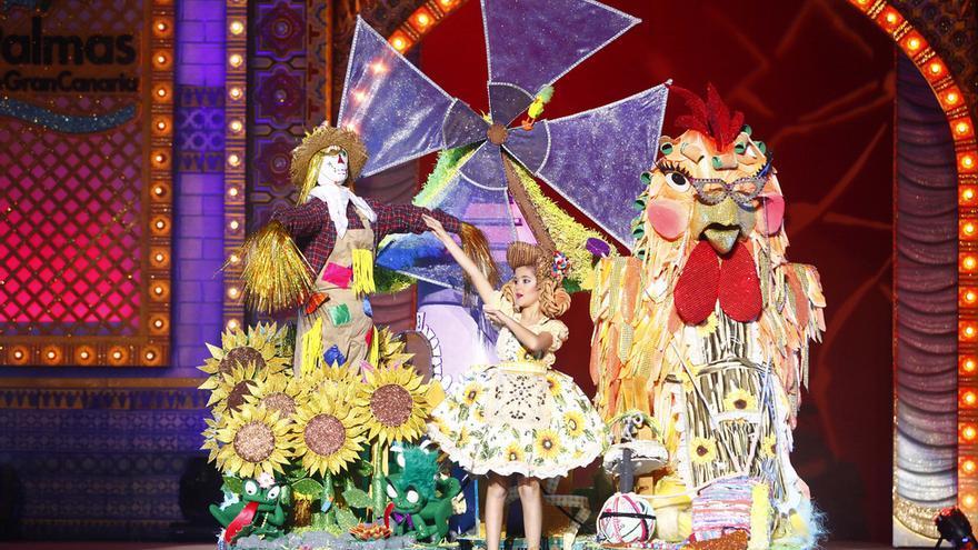 Gala de la Reina Infantil del Carnaval de 'Las mil y una noches'. FOTO: LpaCarnaval