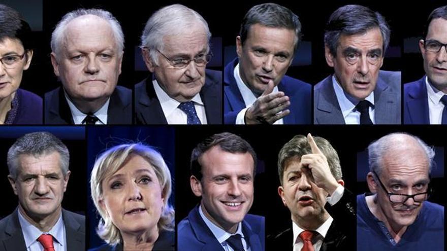"""Fillon es el candidato a las elecciones más """"rico"""", Macron el más """"pobre"""""""