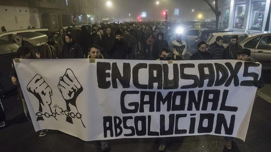 Los detenidos por los disturbios de Gamonal se sientan hoy en el banquillo