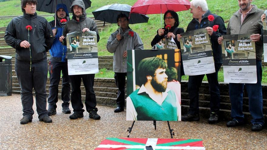 Familiares y allegados de Mikel Zabalza organizan el domingo un acto en su recuerdo en el barrio donostiarra de Altza