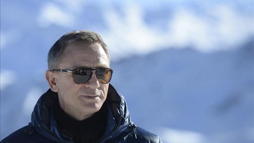 Un vídeo revela detalles del rodaje en Austria del filme de James Bond