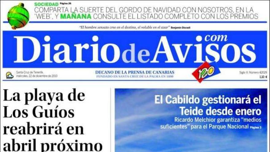 De las portadas del día (22/12/2010) #3