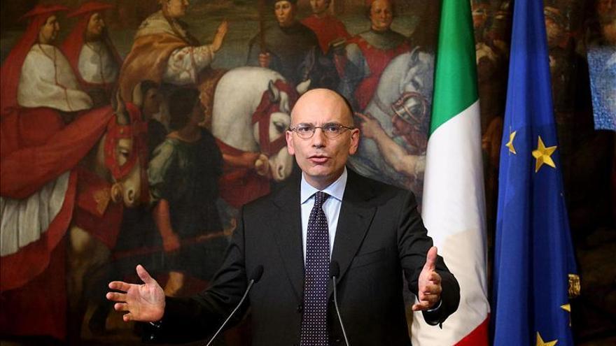 Letta presenta su dimisión al Jefe de Estado tras presidir su último Consejo de Ministros