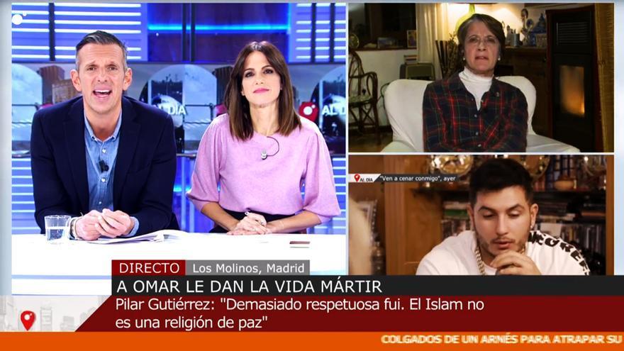 'Cuatro al día' entrevista a Pilar Gutiérrez