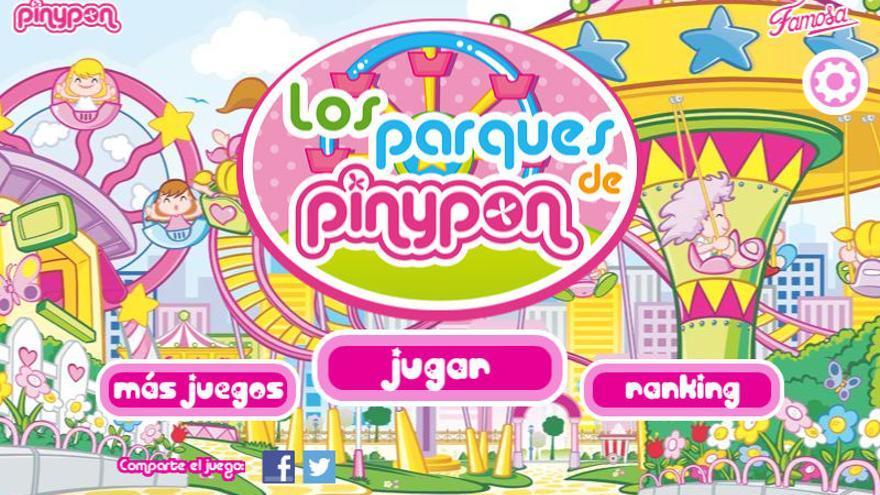 Una de las 'apps' de la marca Pinypon
