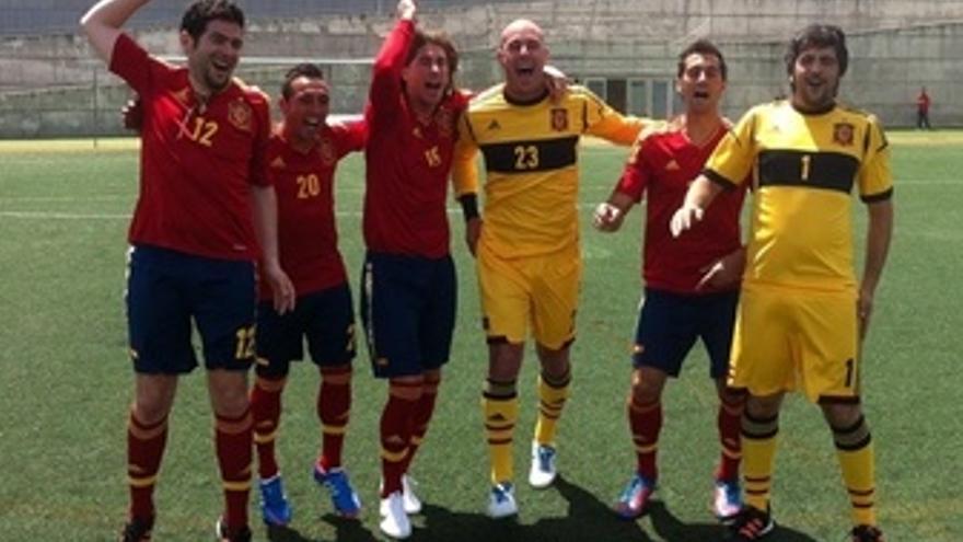 Estopa, Reina, Cazorla, Arbeloa Y Ramos