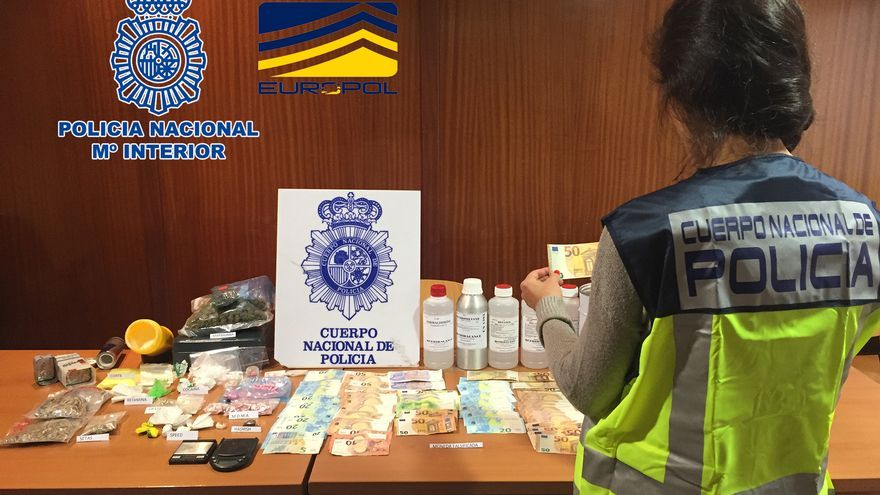 Euros falsos incautados a los detenidos en la operación Deep Monkey