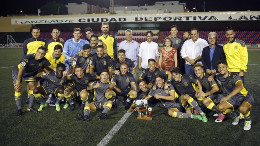 El filial de la UD Las Palmas ha sido el ganador del trofeo en las dos últimas ediciones