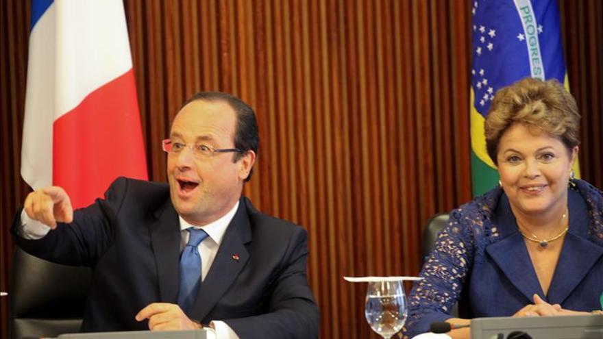 Hollande respalda la iniciativa de Brasil contra el espionaje en internet