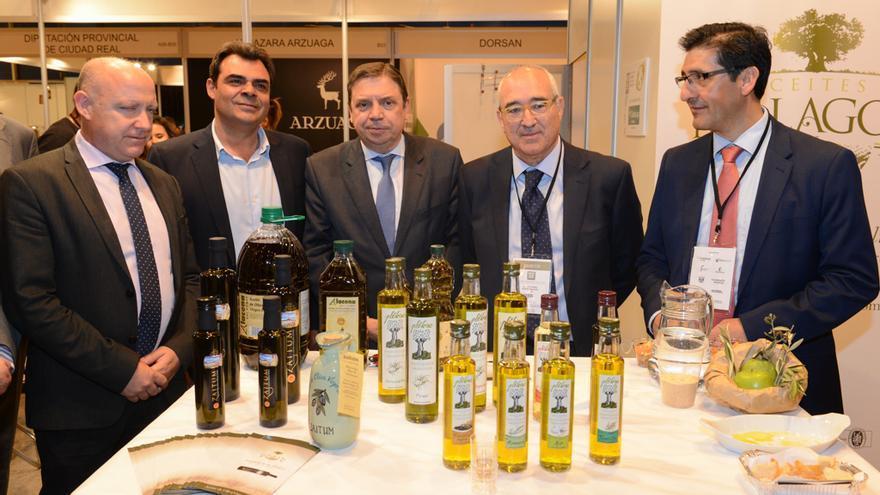 Luis Planas en la Exposición Mundial del Aceite de Oliva