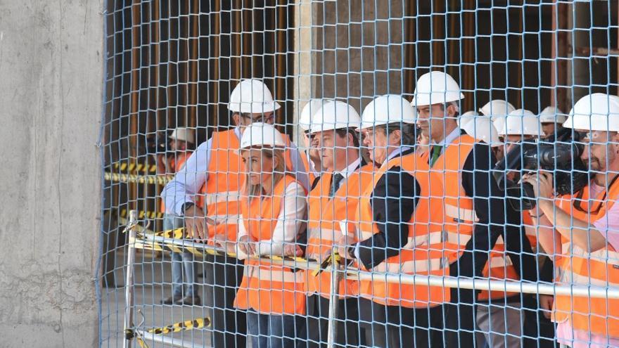 Visita a las obras del nuevo Hospital de Toledo