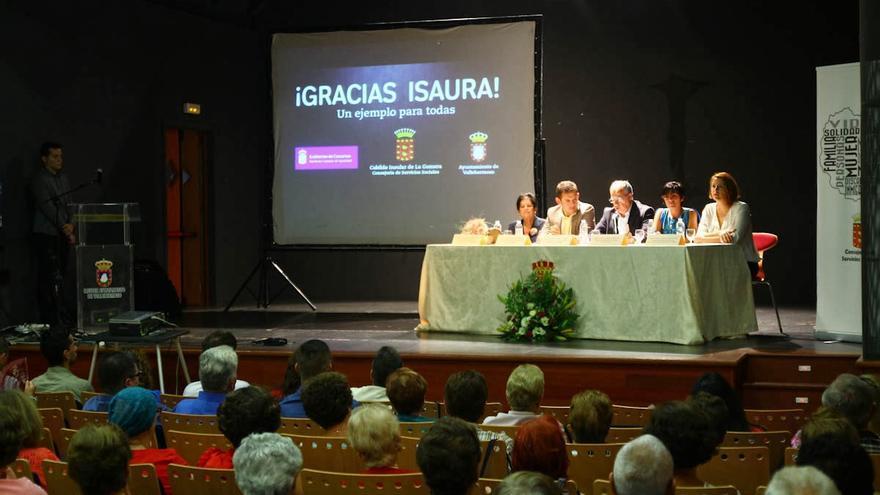 Acto por el Día de la Mujer Rural en La Gomera.